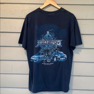 Vtg 2002 Fast & Furious Wreckless Graphic Tee